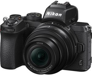 Nikon-Z-50-left broad spectrum mirrorless cameras