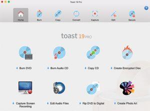 Roxio-Toast-19-Pro-Interface