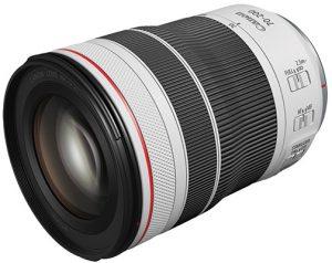 Canon RF lenses Canon-RF70-200mm-F4-L-IS-USM—Top-Slant