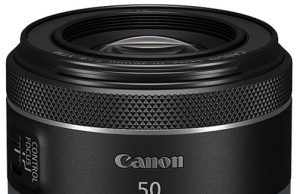 Canon Rf lenses RF50mm-F1.8-STM—Vertical