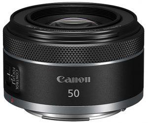 Canon Rf lenses RF50mm-F1.8-STM—Vertical