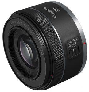 Canon RF lenses RF50mm-F1.8-STM—horiz