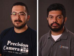 Service-Staff precision camera