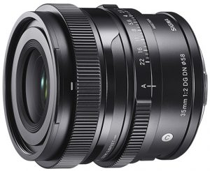 Sigma I series Sigma-35mm-f2-DG-DN- Contemporary