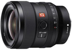 wide-angle prime lenses Sony-FE-24mm-F1.4-GM-left