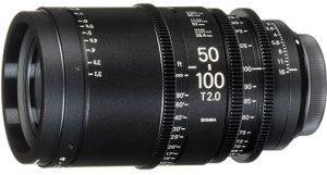 Sigma-50-100mm-T2 specialized cine lenses