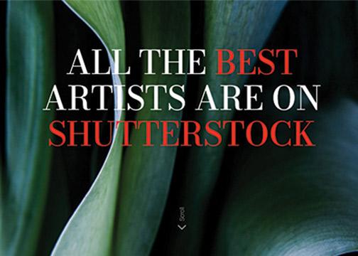 Shutterstock-all-the-best-artists-banner