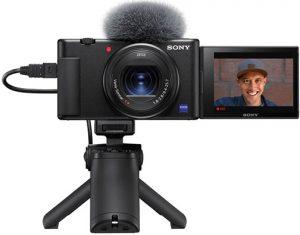 Sony-Cyber-shot-ZV-1-w-tripod