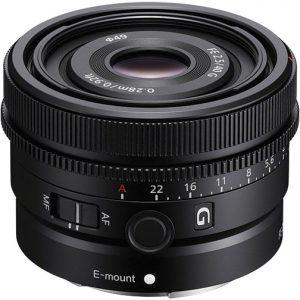 e-mount g lenses Sony-FE-40mm-F2.5-G-