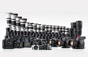 Canon-Camera-Lens-family
