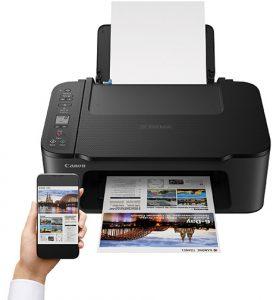 pixma inkjet printers Canon-Pixma-TS3520-black-w-app