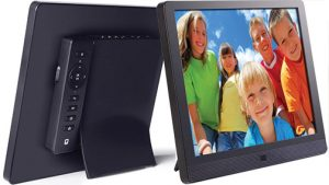 exciting imaging gear Pix-Star-10-in-Digital-Wi-Fi-Frame-front-back
