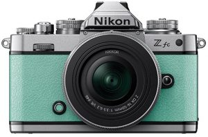 Nikon-Z-fc–green-frt