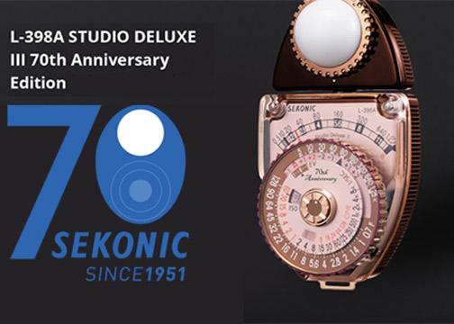 Sekonic-70th-L-398A-edition
