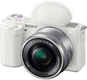 Sony-alpha-ZV-E10-white-left