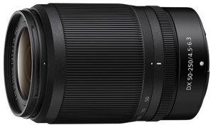 telephoto lens Nikon-Nikkor-Z-DX-50-250mm-f4.56.3-VR
