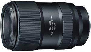 telephoto lens Tokina-FiRIN-100mm-f2.8-FE-Macro