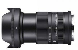 Sigma-18-50mm-F2.8-DC-DN-C-side
